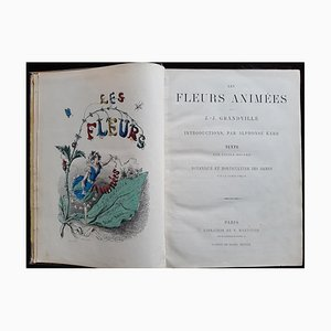 Les Fleurs Animées, Book by Jean Jeacques Grandville, 1847