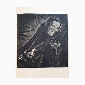 Il Pantegan, Buch Illustriert von Walter Gramatté, 1919