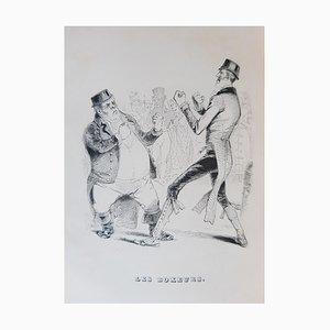 Oeuvres Complètes de Béranger, Book by Jean Jeacques Grandville, 1840