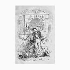 Jean Jeacques Grandville, Small Miseries of Human Life, Book, 1846