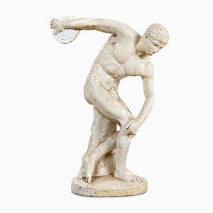 Discobolus Thrower Statue