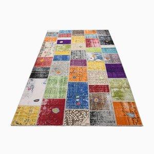 Tappeto patchwork fatto a mano, Turchia
