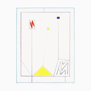 Composition III, Jean Claude Rossel, Siebdruck
