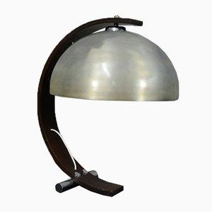 Tischlampe mit Bogenstruktur, Italien, 1960er