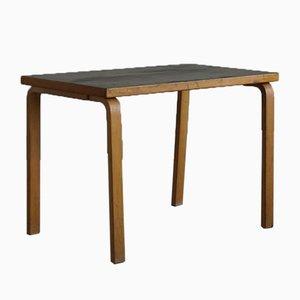 Mid-Century Birch Dining Table by Alvar Aalto for Artek Finland