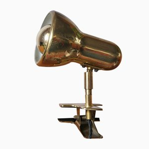 Lampe de Bureau avec Clip, 1970s