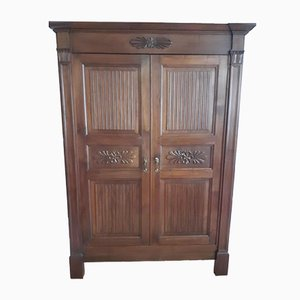 Antique Walnut Wardrobe