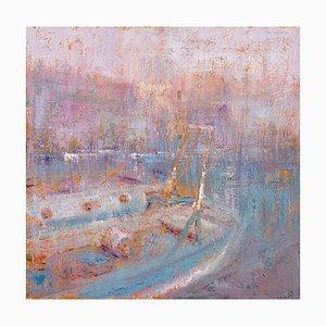 Renato Criscuolo, Morning Sea, Öl auf Leinwand