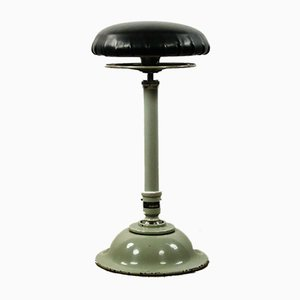 Vintage Height-Adjustable Doctor's Stool from Ritter AG