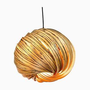 Lampe à Suspension Mela Zebrawood par Gofurnit
