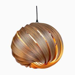 Lampe à Suspension Mela European Walnut en Noyer par Gofurnit