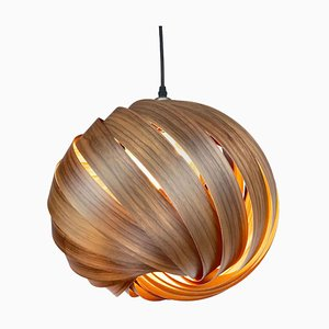 Mela European Walnut Hanging Lamp by Gofurnit