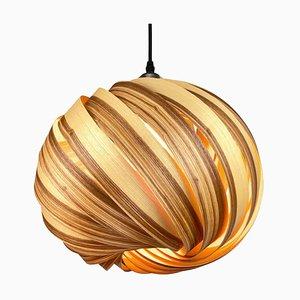 Mela Olive Ash Hanging Lamp by Gofurnit