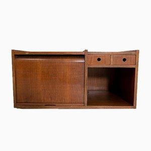 Mobile bar in legno di Claudio Salocchi, anni '60