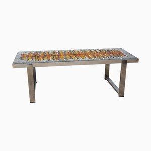 Tavolino da caffè Mid-Century di Antonio De Nisco