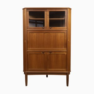 Danish Corner Cabinet by H. W. Klein for Bramin