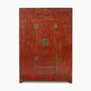 Meuble Antique Qinghai Laqué Rouge