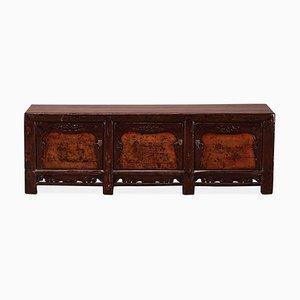 Niedriges antikes chinesisches Sideboard