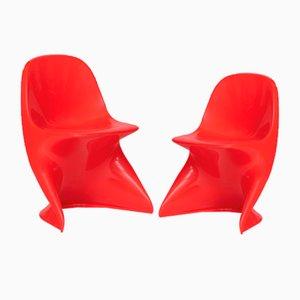 Vintage Casalino Stühle von Alexander Begge für Casala, 2er Set