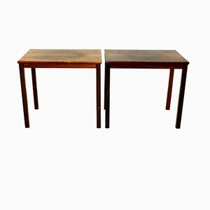 Rosewood Side Tables, Sweden, 1960, Set of 2
