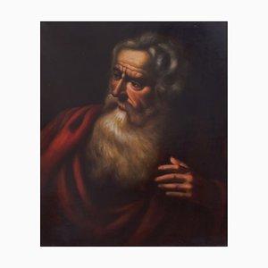 Filosofale, scuola barocca napoletana, olio su tela