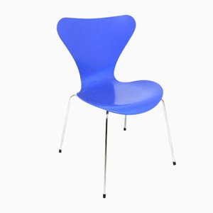 Sedie modello 7 di Arne Jacobsen per Fritz Hansen, Danimarca, 1992, set di 6