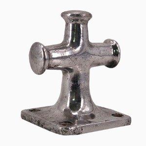 Gancio attaccapanni triplo in alluminio pressofuso