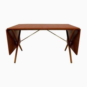 Tavolo da pranzo AT309 di Hans J. Wegner per Andreas Tuck, Danimarca, anni '60