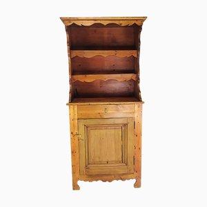 Mobiletto vintage rustico in legno di abete
