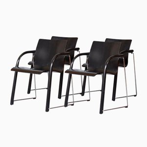 Vintage S320 Stühle von Wulf Schneider & Ulrich Boehme, 4er Set