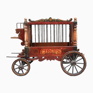 Early 20th Century Model of Circus Wagon