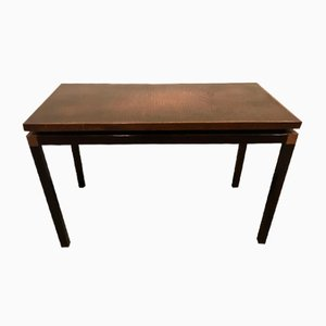 Danish Rosewood and Copper Coffee Table