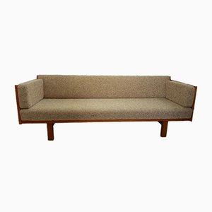 Dormeuse o divano GE 259 vintage di Hans Wegner per Getama