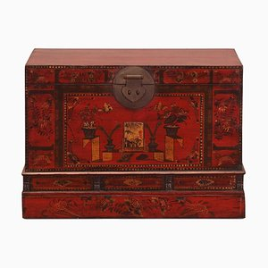 Large Painted Shandong Trunk