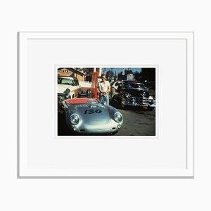 James Dean Framed in White by Bettmann