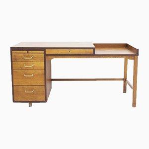 Danish Teak and Oak Writing Desk