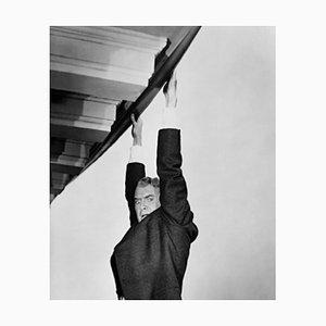 Imprimé Pigmentaire James Stewart Encadré en Noir