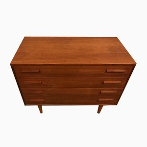 Danish Teak Chest of Drawers by Kai Kristiansen for FM, 1960s