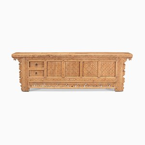 Large Carved Xinjiang Sideboard