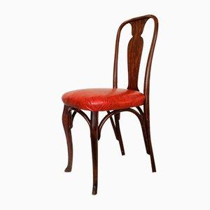 Modell Glaris Stühle von Horgen Glarus, 1915, 4er Set