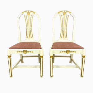 Ax Chairs, Sweden, 1850s, Set of 2