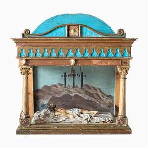 Italian Easter Diorama, 19th Century