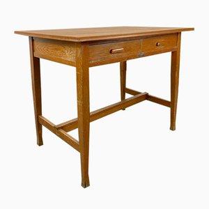 Schwedischer Eichenholz Schreibtisch, 1900er