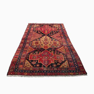 Vintage Middle Eastern Decorative Woven Shiraz Hall Rug, 1940s