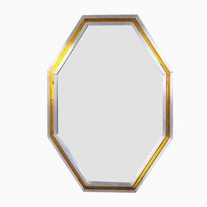Italian Octagonal Mirror, 1970s