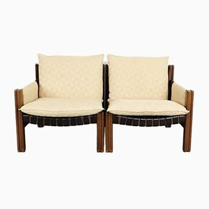 Armchairs from Ton, Set of 2