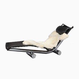 Chaise Longue Modèle Chariot par Paul Tuttle pour Strässle International, 1970