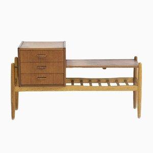 Vintage Holz Flur Konsole von Arne Wahl Iversen