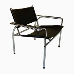 Vintage Modernist Easy Chair by Gerard Vollenbrock for Gelderland, 1970s