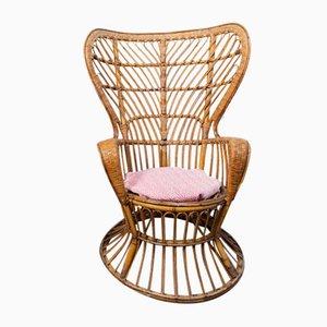 Vintage Peacock Chair von Lio Carminati